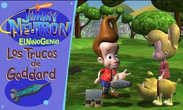 Jimmy Neutron Los trucos de Goddart