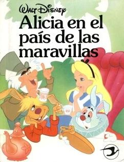 alicia en el pais de las maravillas Disney