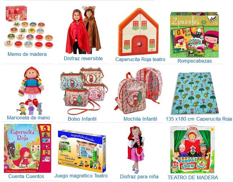 juguetes caperucita roja