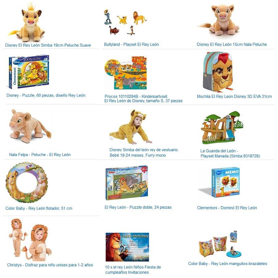 juguetes el rey leon