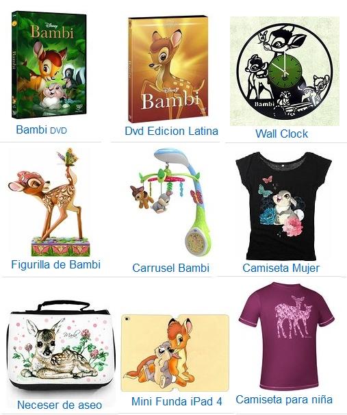 juguetes bambi