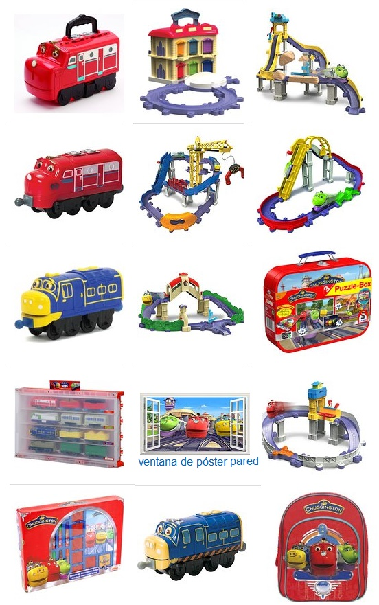 juguetes chuggington