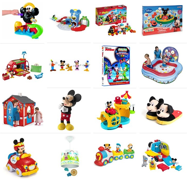 juguetes mickey mouse