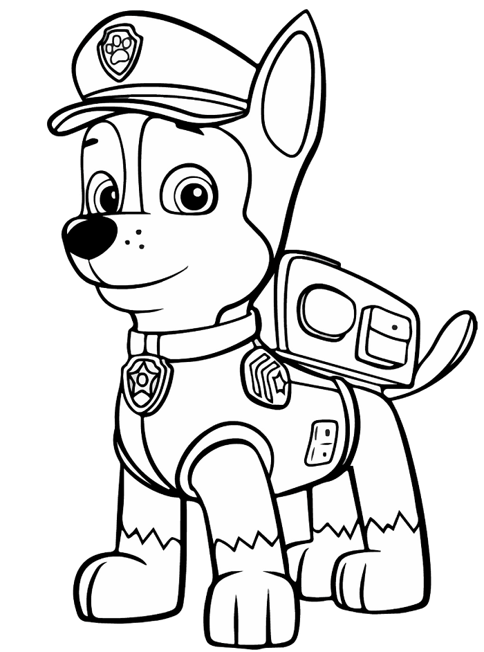 Colorear Patrulla Canina - Juegos Para Descargar