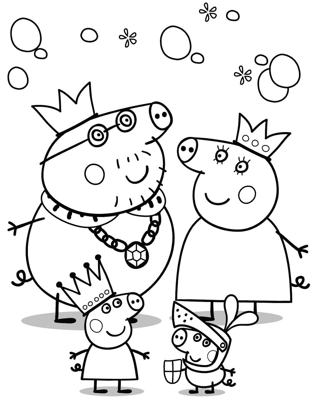 Colorear Peppa Pig - Juegos Para Descargar