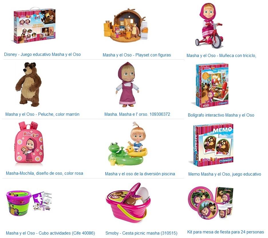 juguetes masha y el oso